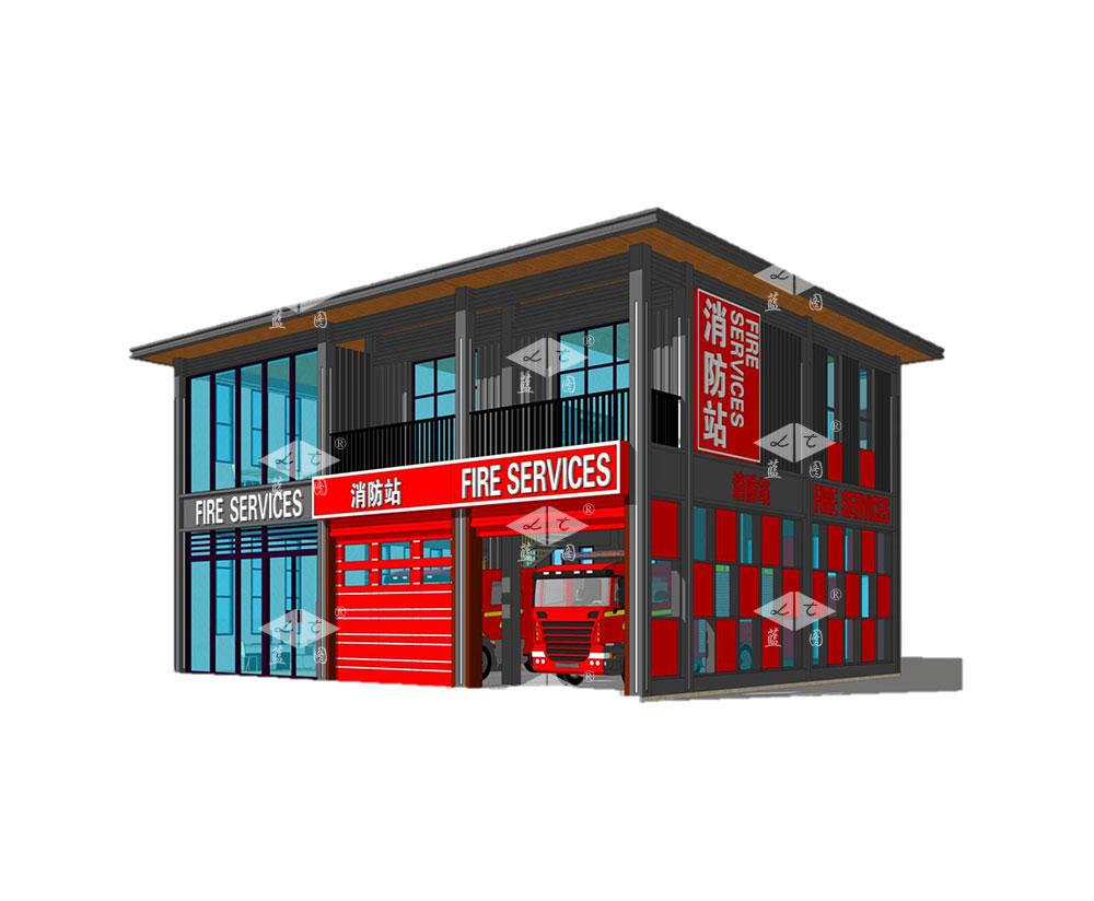 智能消防站