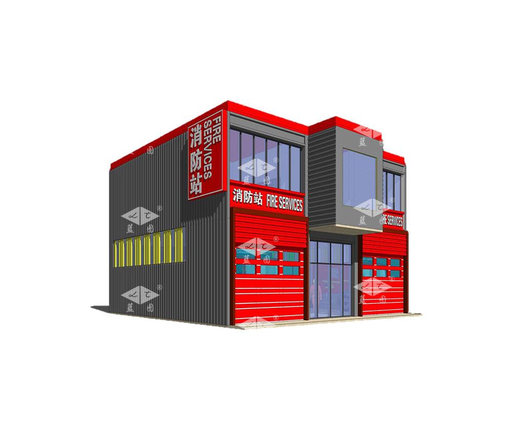 模块化消防站